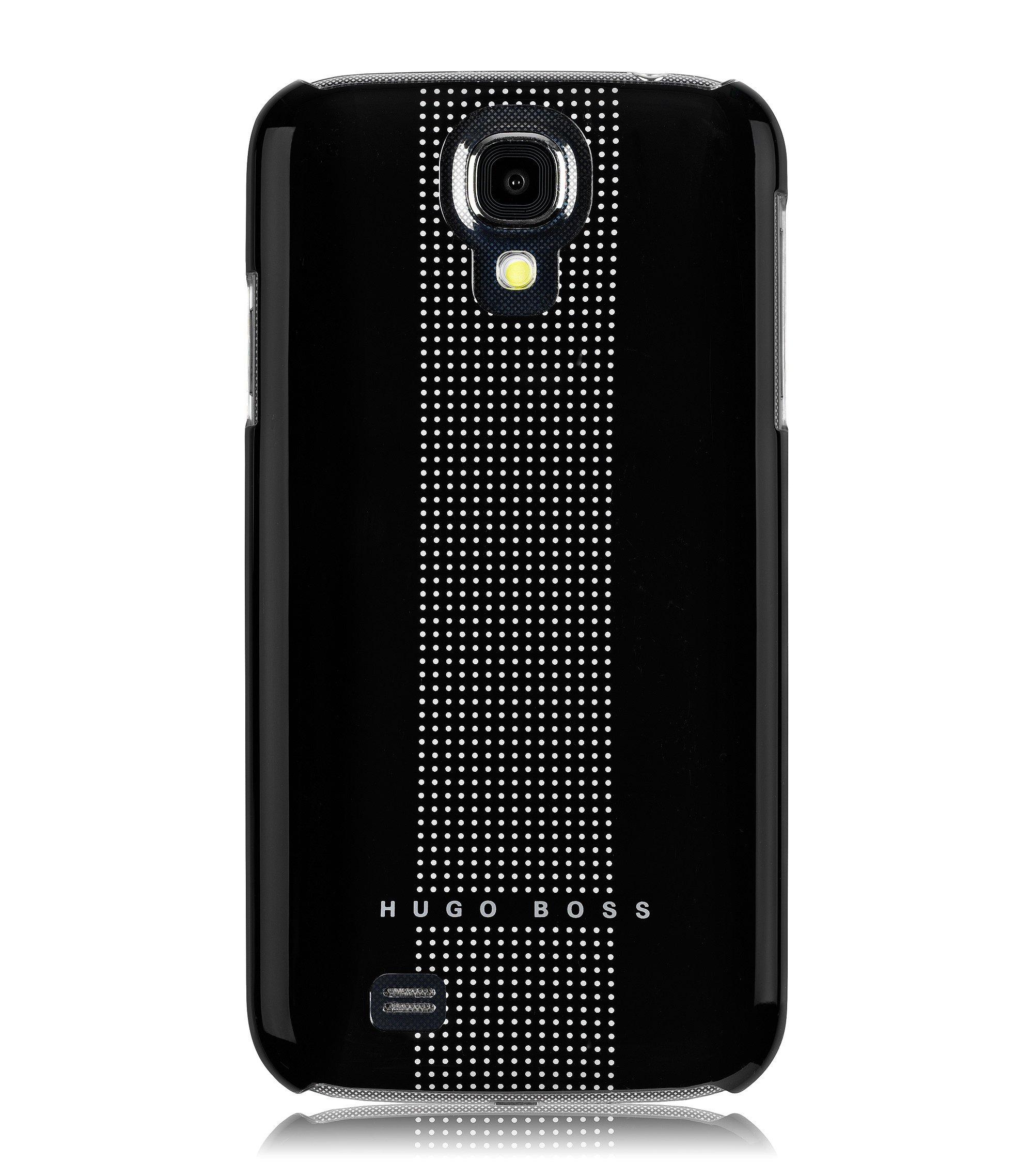 Hard Cover ´Dots black IV` für Samsung Galaxy S4, Schwarz