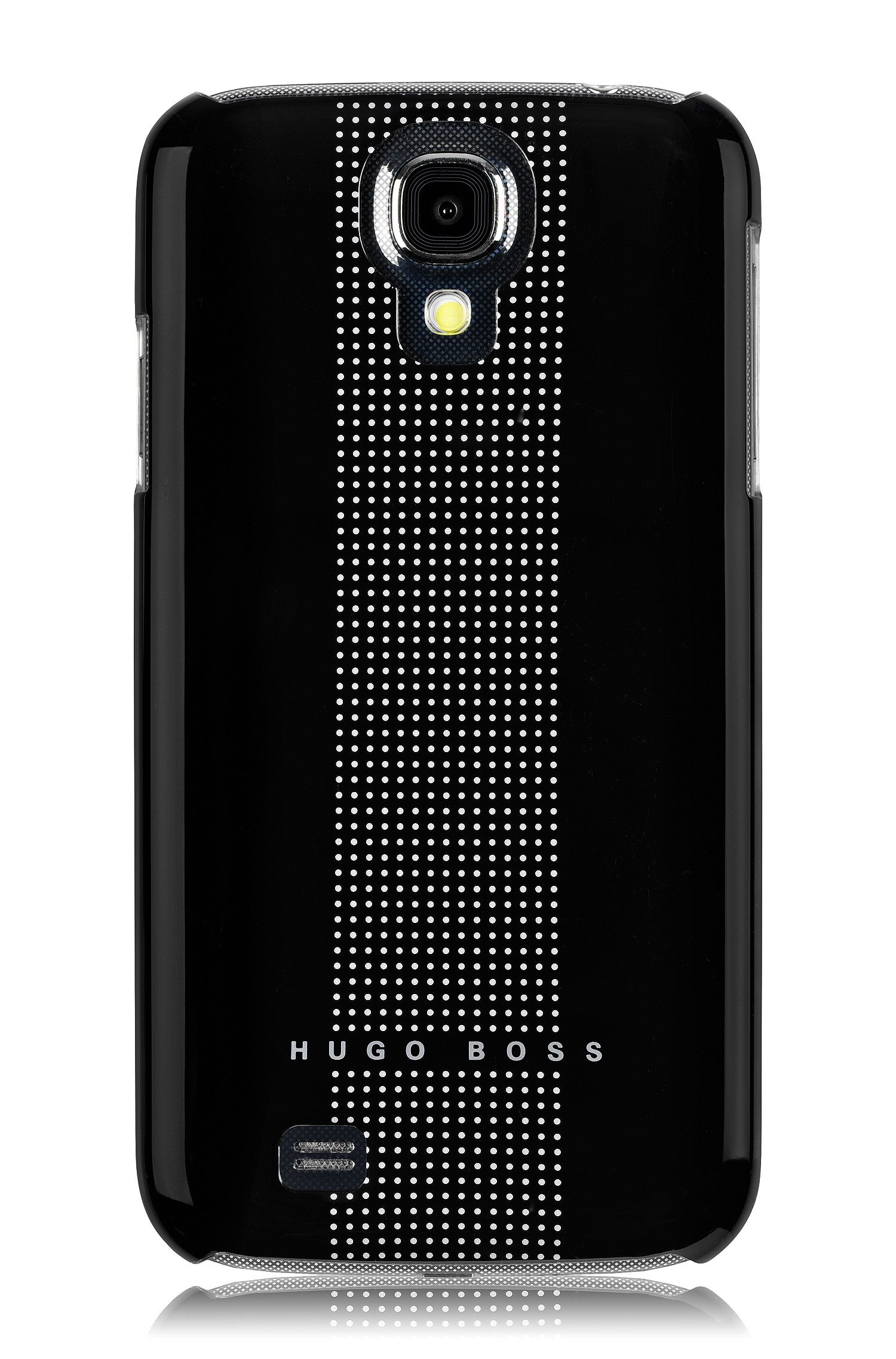Hardcover ´Dots black IV` voor Samsung Galaxy S4
