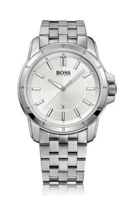 Montre pour homme «HB302» avec bracelet en acier inox, Assorted-Pre-Pack