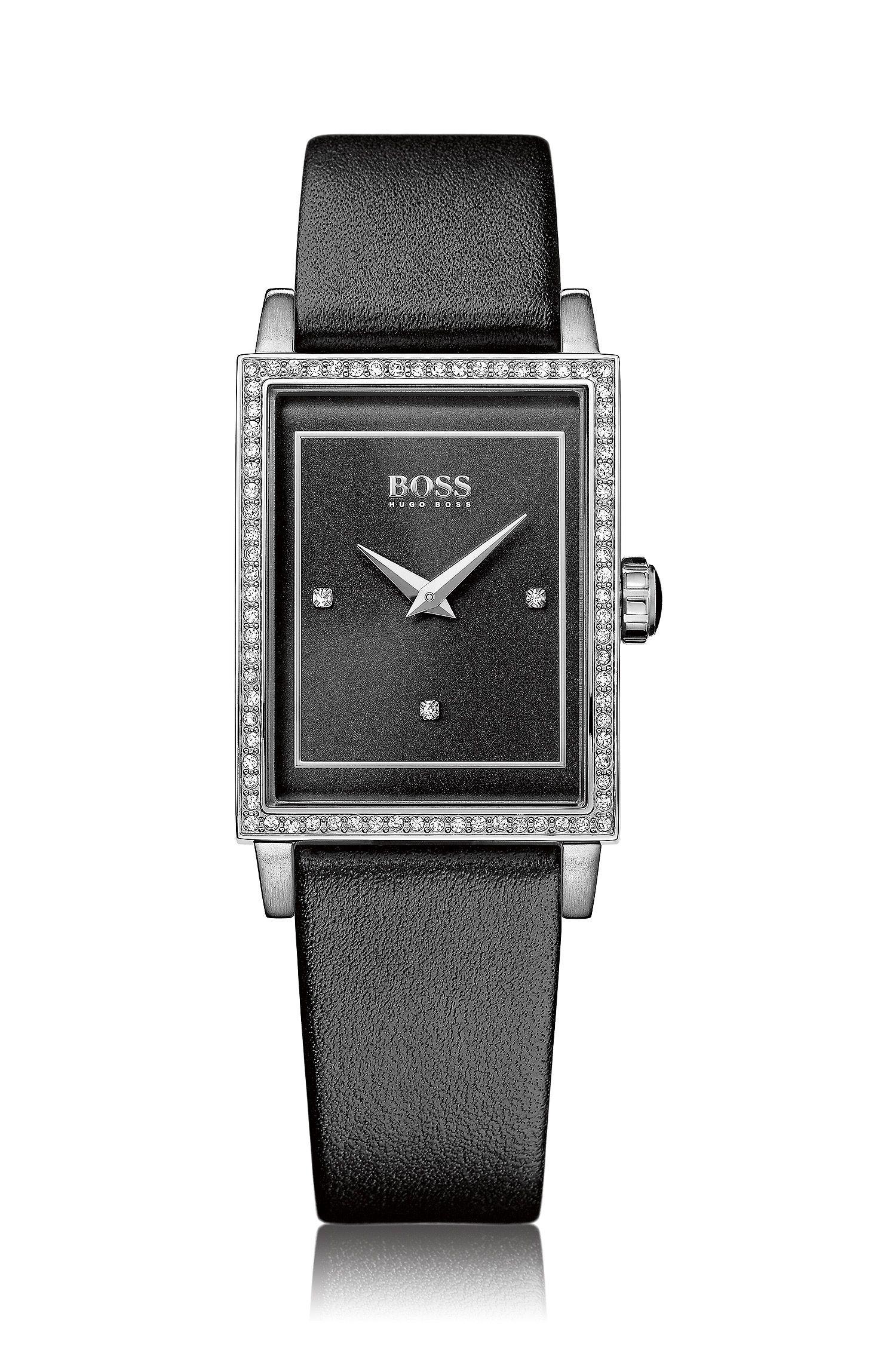 Armbanduhr ´HB6009` mit Lederarmband