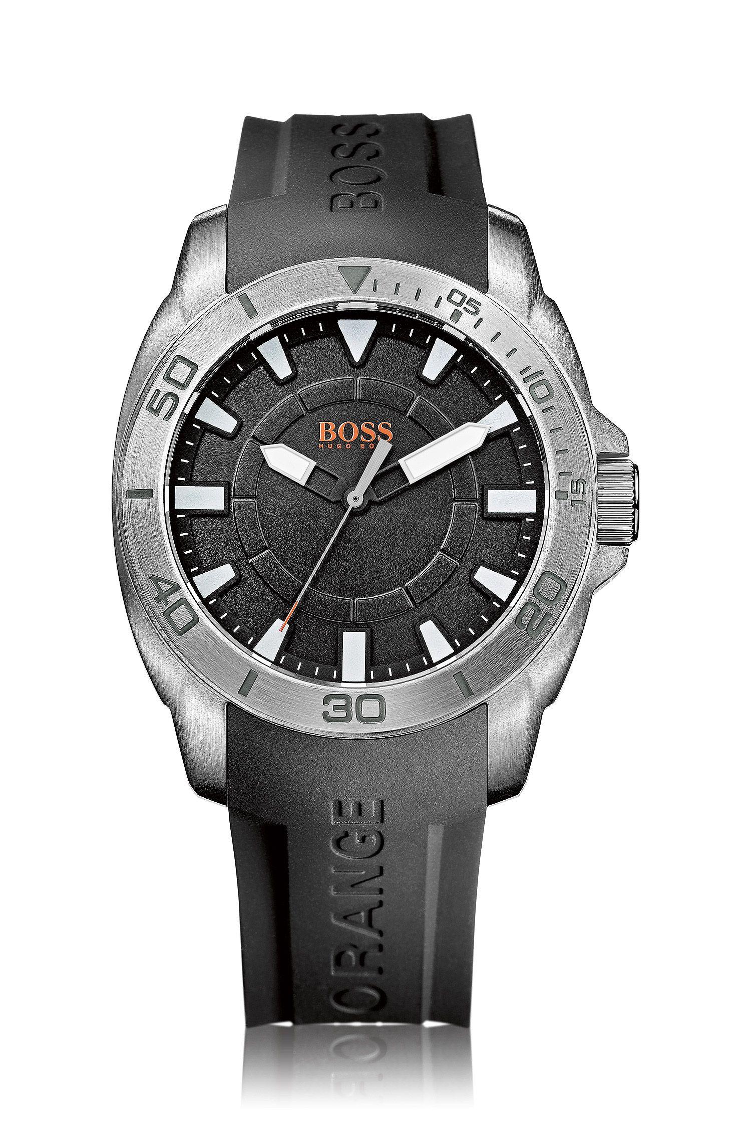 Montre-bracelet «HB7006» avec bracelet en silicone