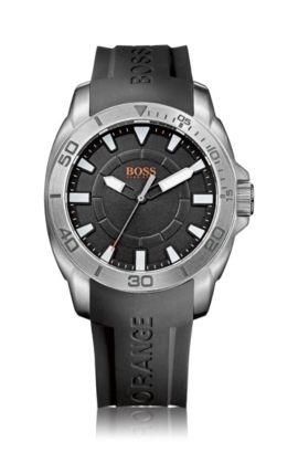 Montre-bracelet «HB7006» avec bracelet en silicone, Assorted-Pre-Pack