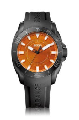 Montre homme à bracelet en silicone, HO7006, Assorted-Pre-Pack