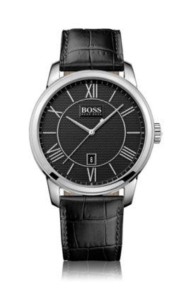 Montre-bracelet «HB6024» avec boîtier en acier inoxydable, Assorted-Pre-Pack
