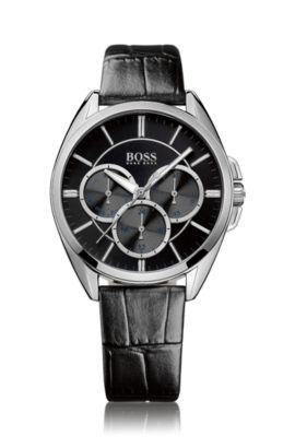 Armbanduhr ´HB6037` mit Armband aus Leder, Assorted-Pre-Pack