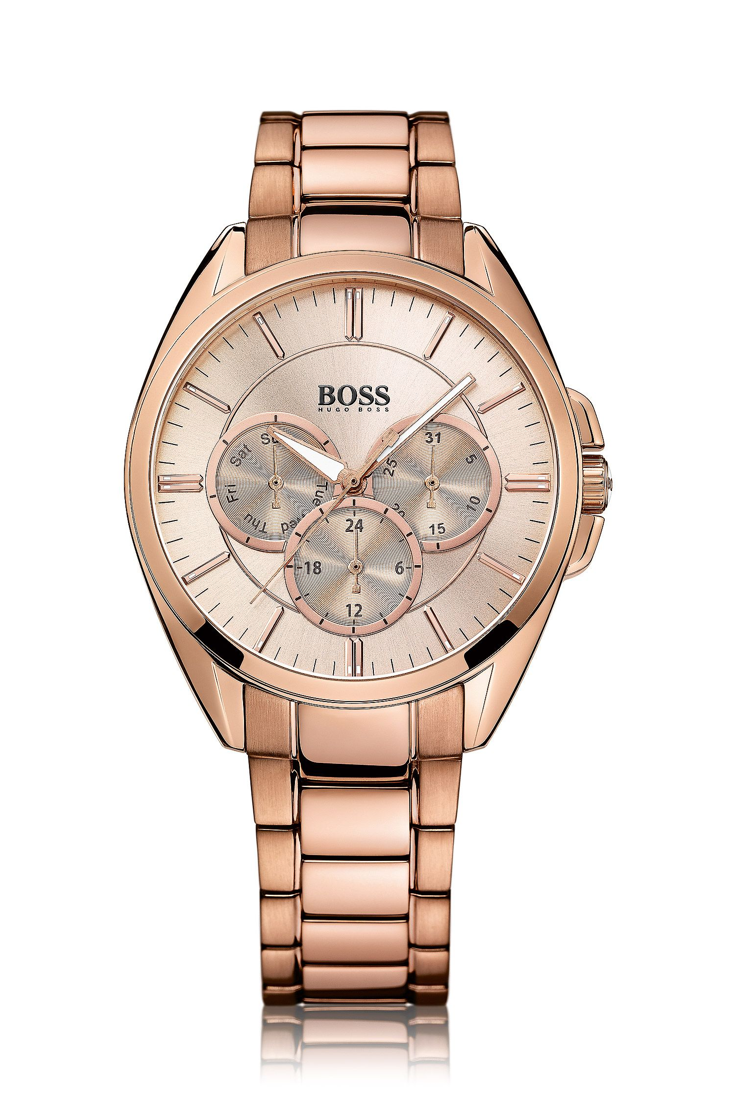 Armbanduhr ´HB6037` aus Edelstahl
