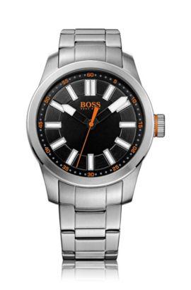 Montre-bracelet «HO7001» en acier inoxydable avec mouvement à quartz, Assorted-Pre-Pack