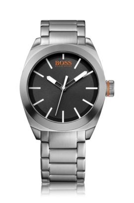 Montre-bracelet «HO300» avec boîtier en acier inoxydable, Assorted-Pre-Pack