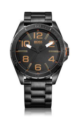 Armbanduhr ´HO7004` aus schwarzem Edelstahl, Assorted-Pre-Pack