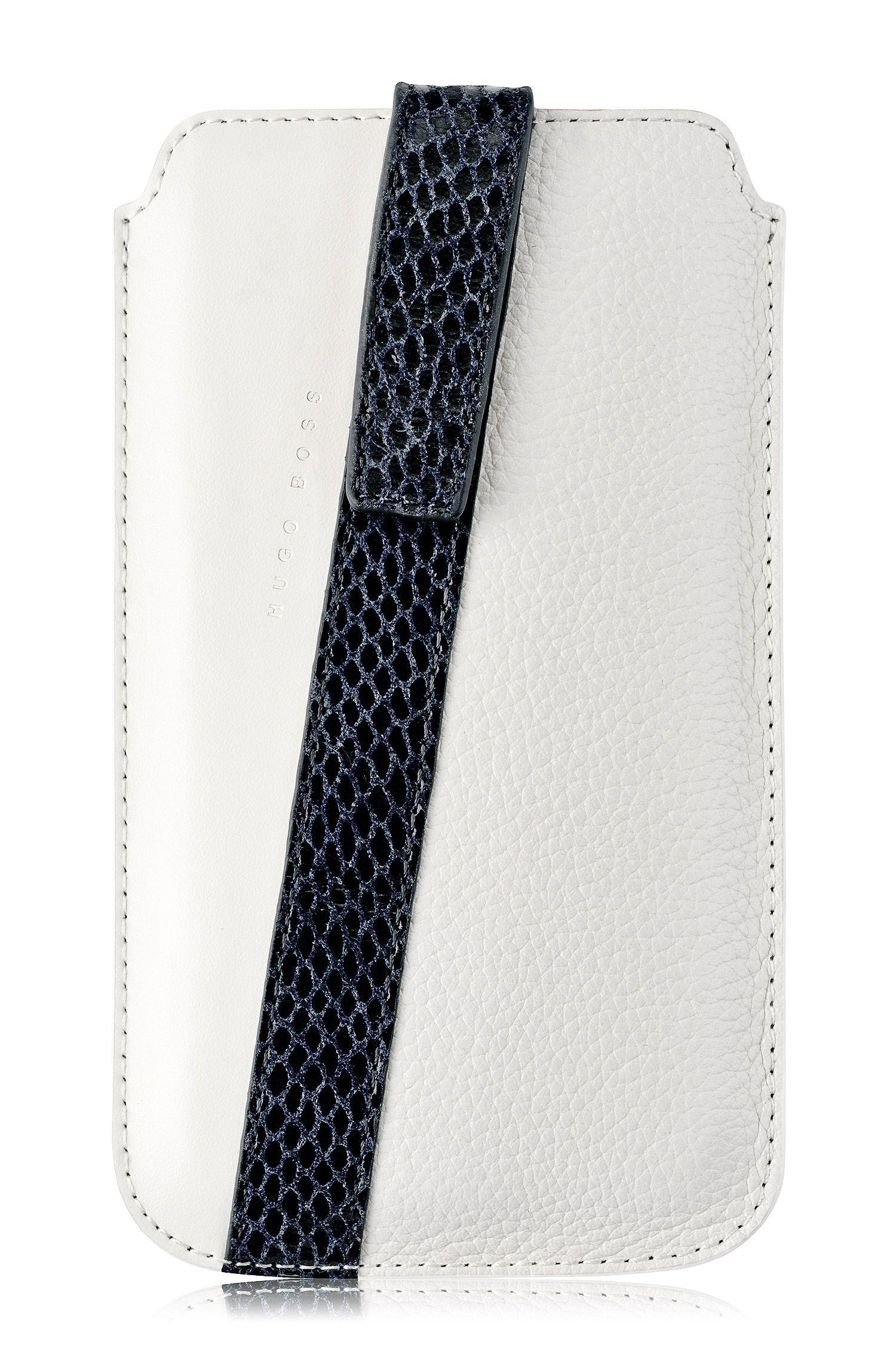 Coque universelle «Mondaine XL» en cuir