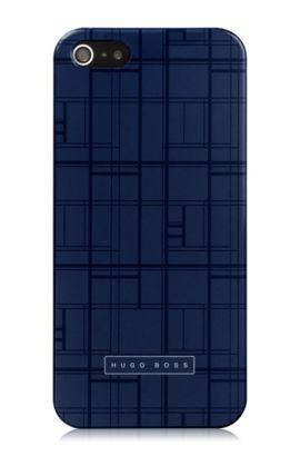 Hard Cover ´Catwalk IP5 Blue` für iPhone 5/5s, Dunkelblau