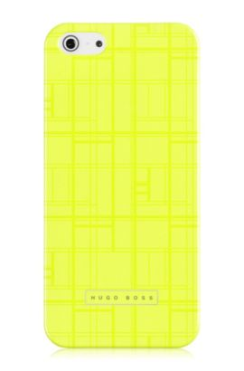 Hard Cover ´Catwalk IP5 Yellow` für iPhone 5/5s, Gelb