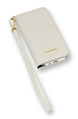 Booklet Case ´Gracious S4` für Samsung Galaxy S4, Weiß