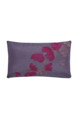 Housse de coussin décoratif «Flowers» , Lilas