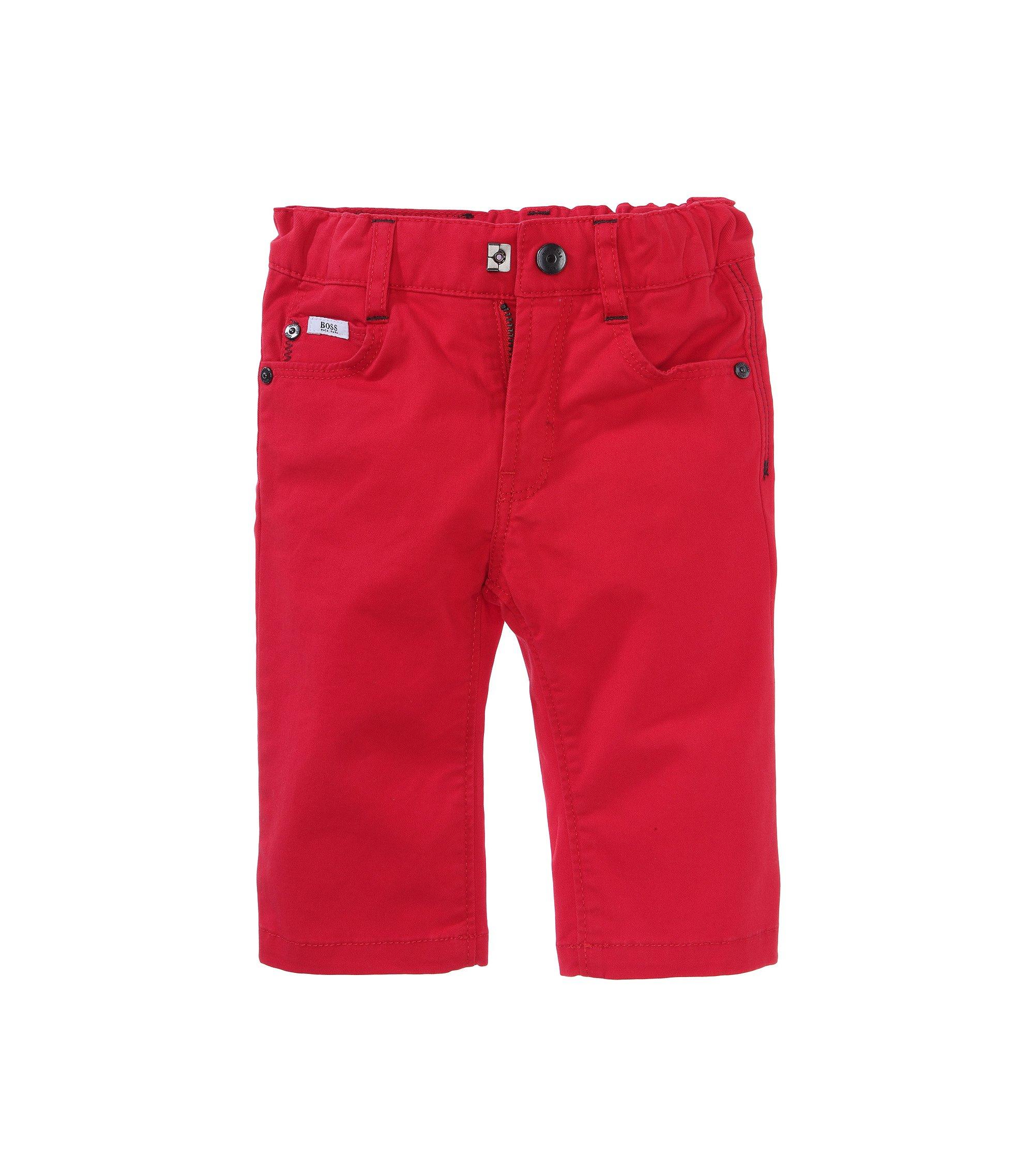 Kids Regular-Fit Jeans ´J04122/990` aus Baumwoll-Mix, Rot