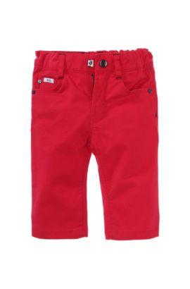 Regular fit kinderjeans 'J04122/990' van een katoenmix, Rood