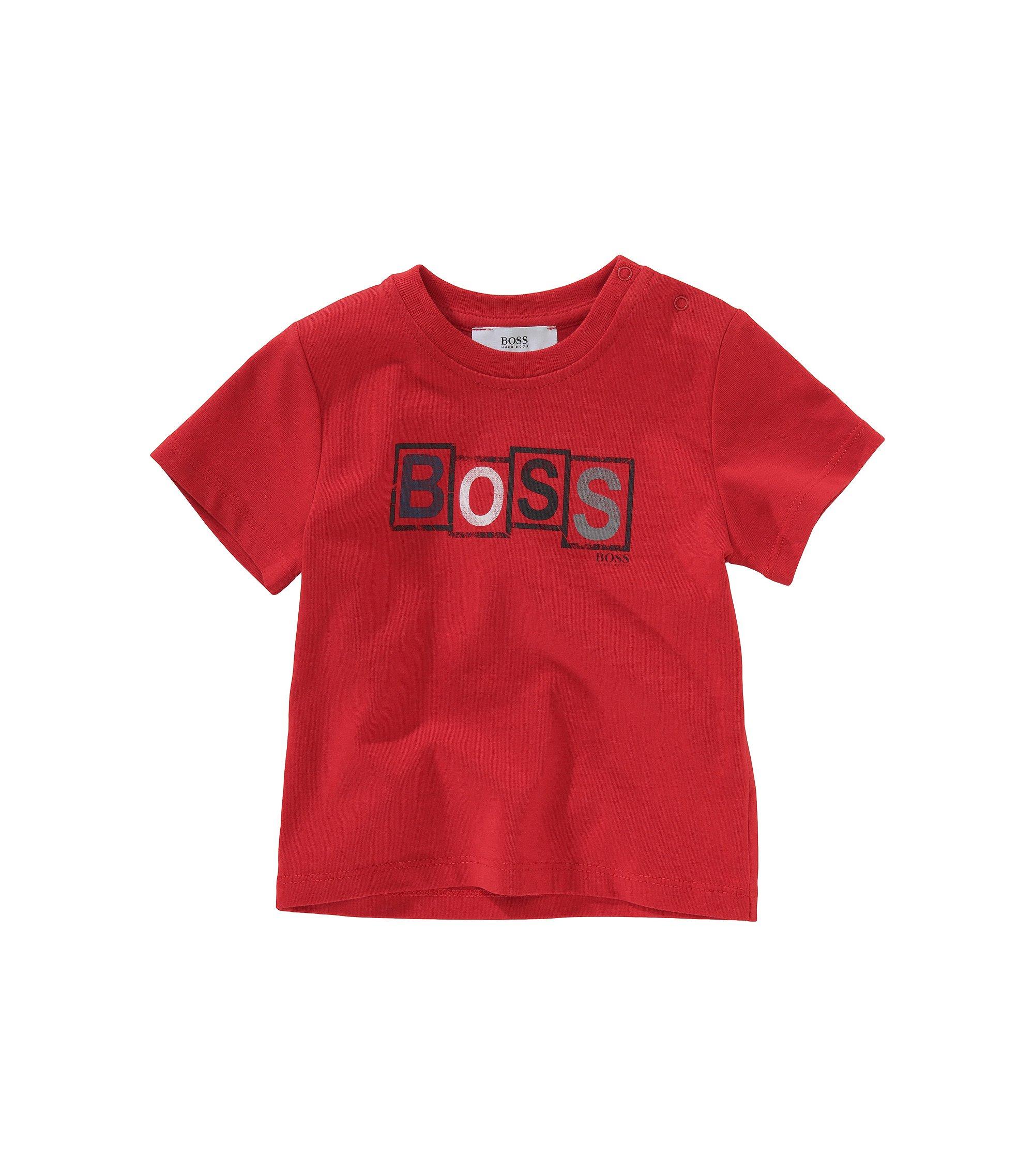 T-Shirt ´J05192` mit Rundhals-Ausschnitt, Rot