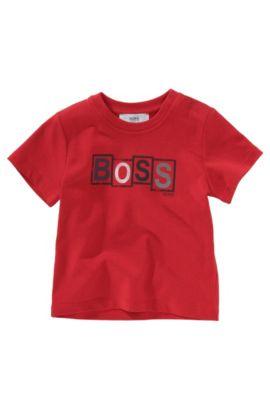 T-shirt «J05192» à col rond, Rouge