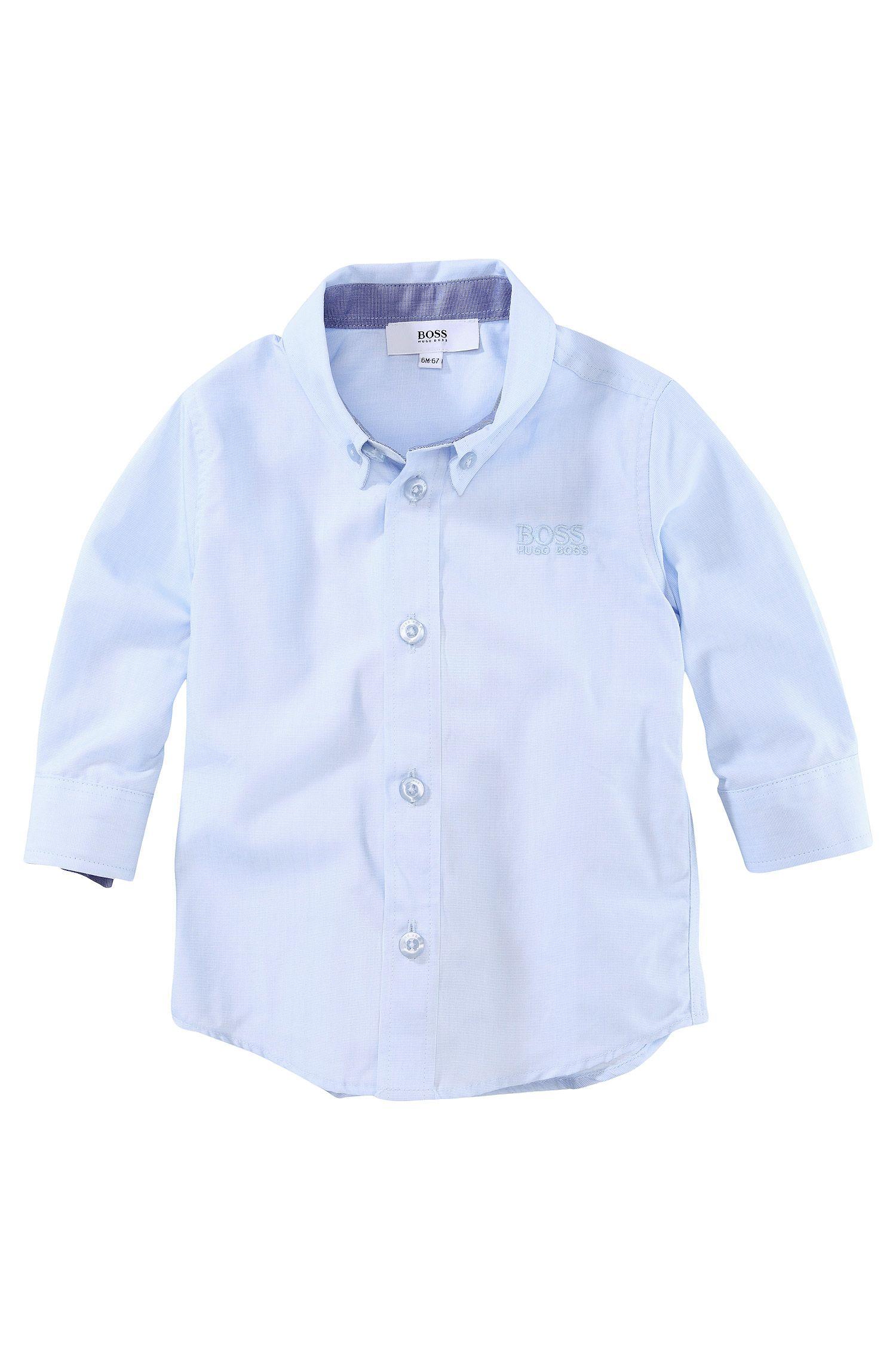 Chemise pour enfant «J05241/775» avec col button-down