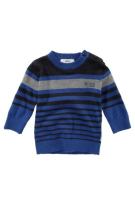 Kids Pullover ´J05246/829` aus Baumwollkomposition, Blau