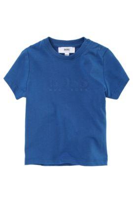 T-shirt pour enfant «J05277/775» en coton, Bleu