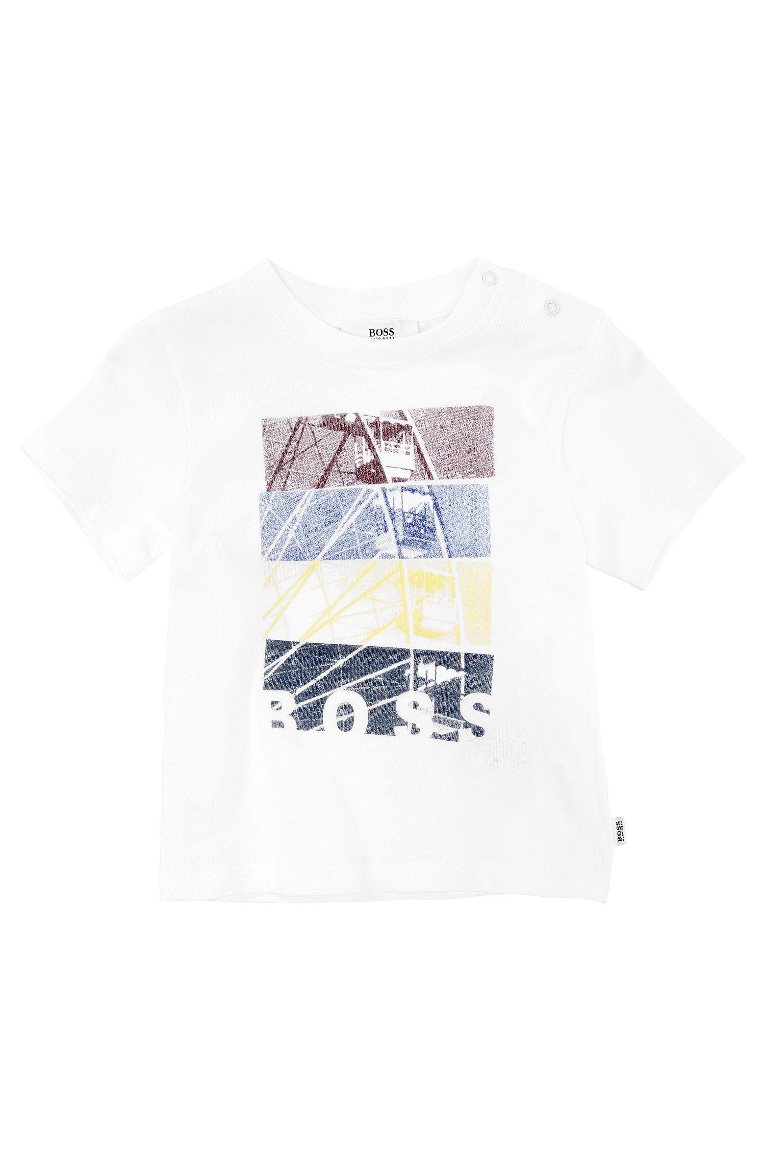 Kids-T-Shirt ´J05279/10B` aus Baumwolle mit Print