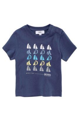 T-shirt pour enfant «J05281/753» en coton, Bleu