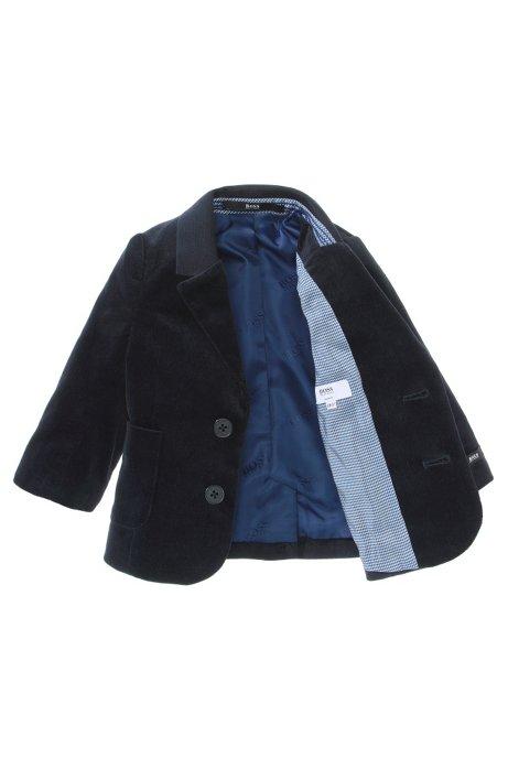 Kids' slim fit jacket 'J06078/862' in a cotton blend, Dark Blue