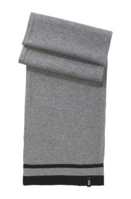 Écharpe en maille pour enfant «J21109/862» en coton mélangé, Gris