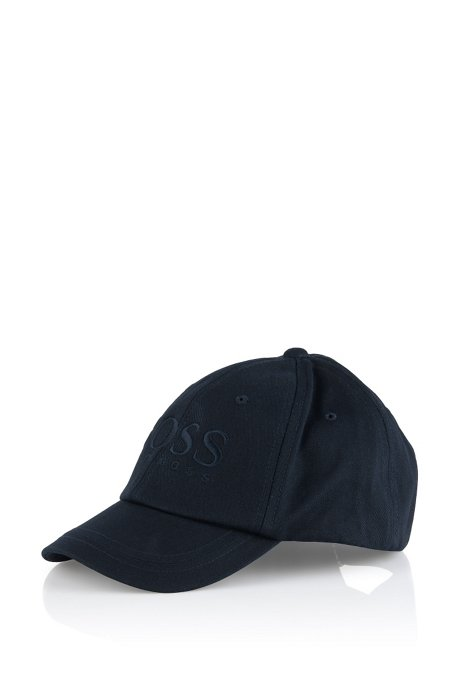 Kids' cap 'J21120/862' in cotton, Dark Blue