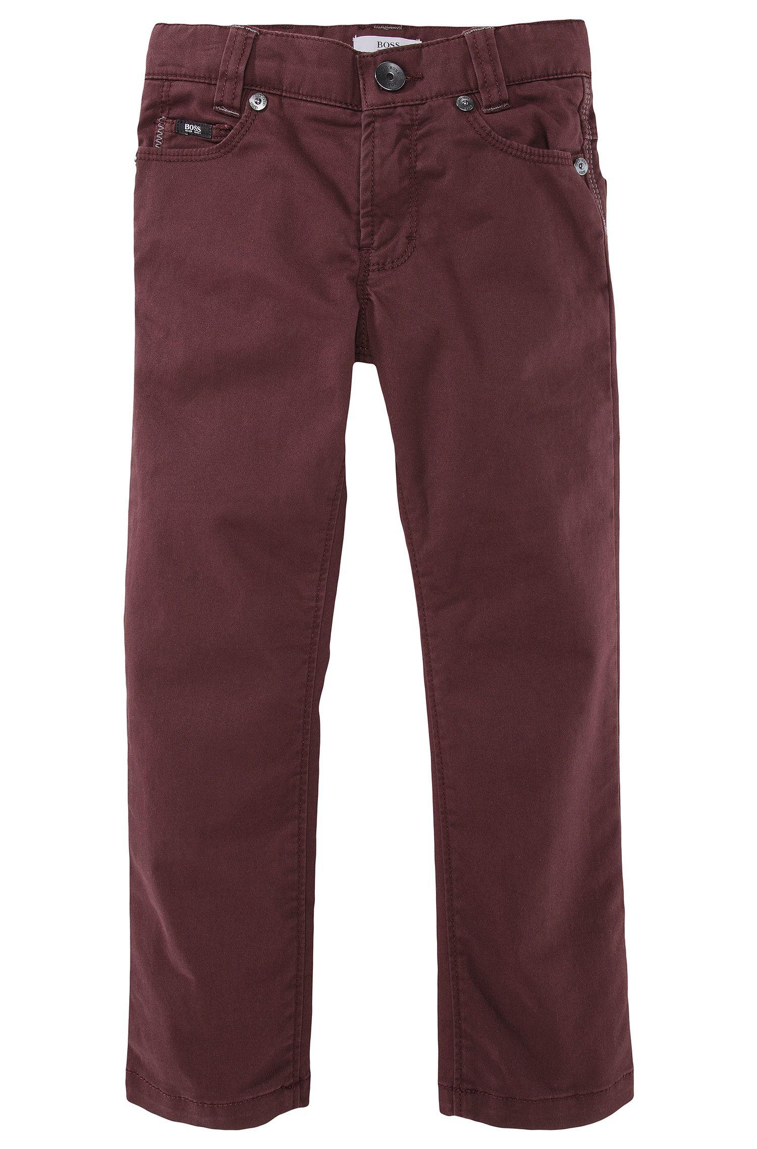Jeans pour enfant «J24242/958» en coton mélangé