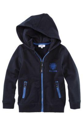 Kindersweatshirtvest 'J25548/826', Donkerblauw