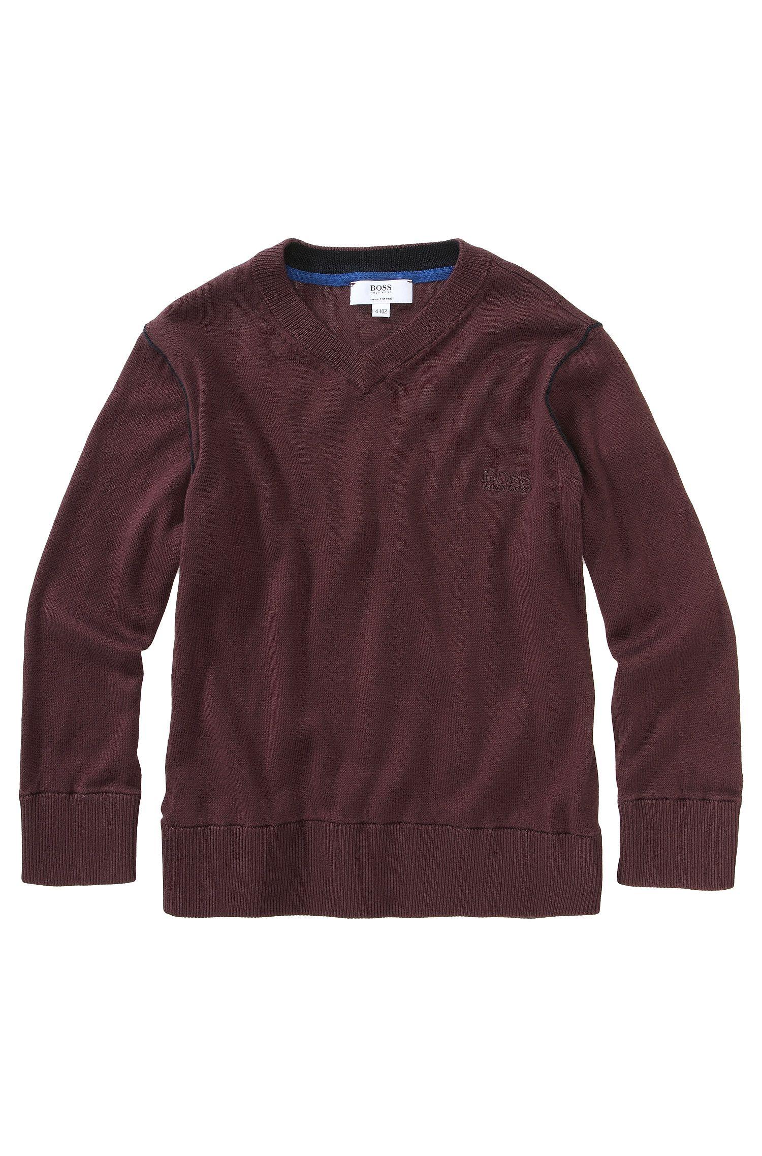 Kids Pullover ´J25549/958` aus Pima-Baumwolle