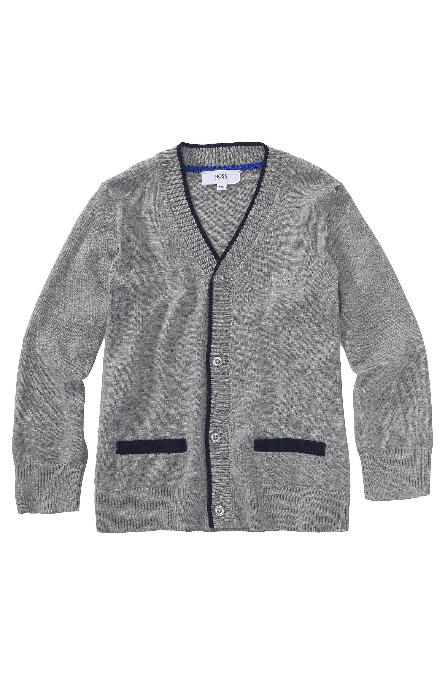 Kids Cardigan ´J25551/A30` aus Baumwollkomposition