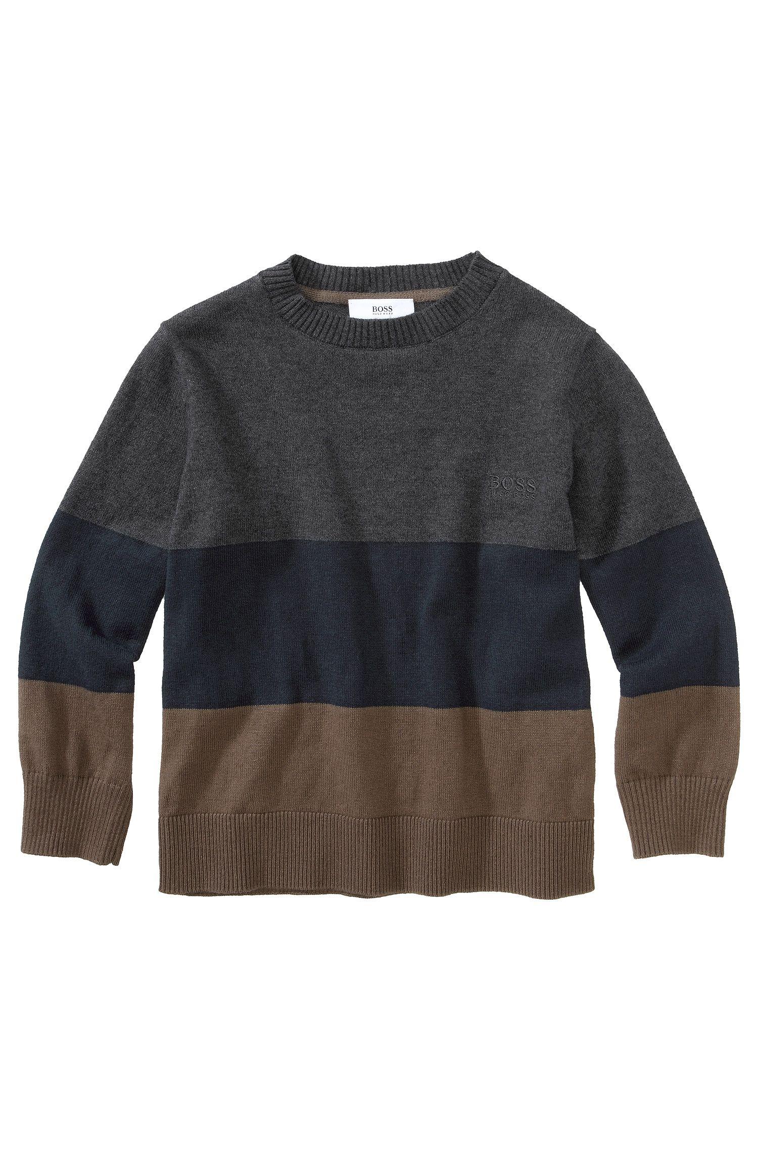 Kids Pullover ´J25597/A80` aus Baumwollkomposition