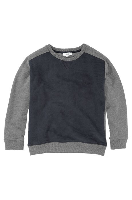 Kids' cotton sweatshirt 'J25598/862', Dark Blue