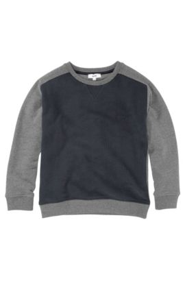 Kids Sweatshirt ´J25598/862` aus Baumwolle, Dunkelblau