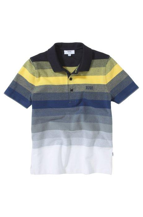 Kids' piqué polo shirt 'J25636/541', Yellow