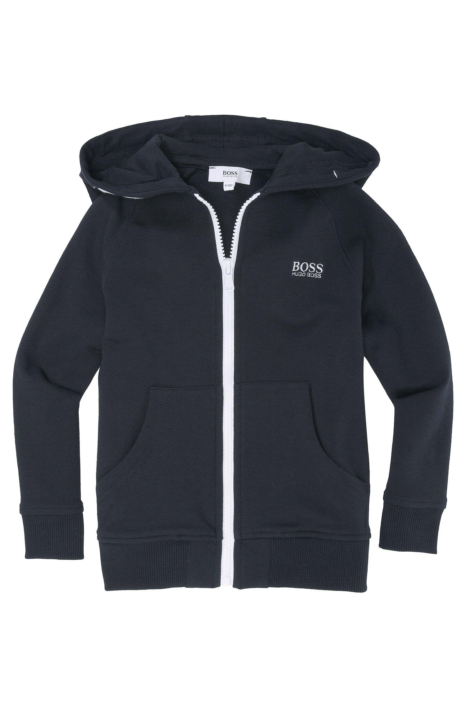 Veste sweat-shirt pour enfant «J25653/862» en coton mélangé