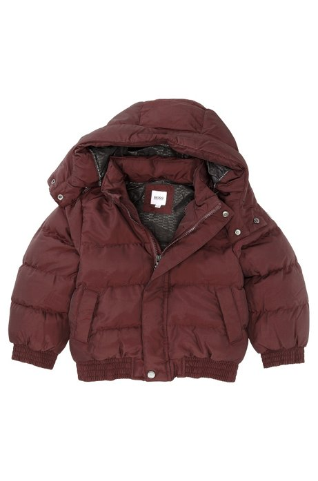 Kids' outerwear jacket 'J26167/958', Dark Red