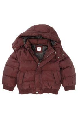 Blouson outdoor pour enfant «J26167/958», Rouge sombre