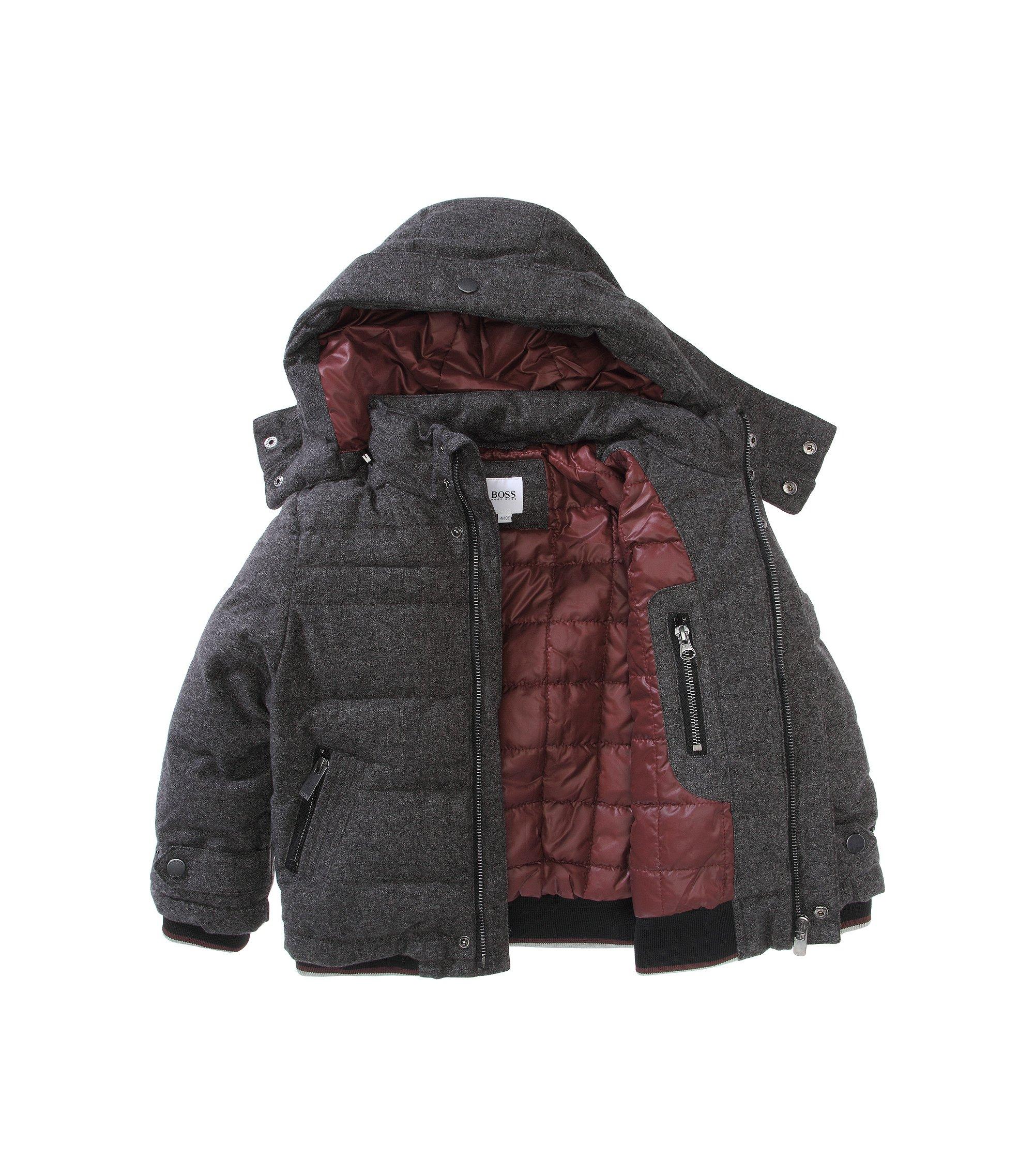 Kids Outdoor-Jacke mit Kapuze ´J26171/A80`, Anthrazit