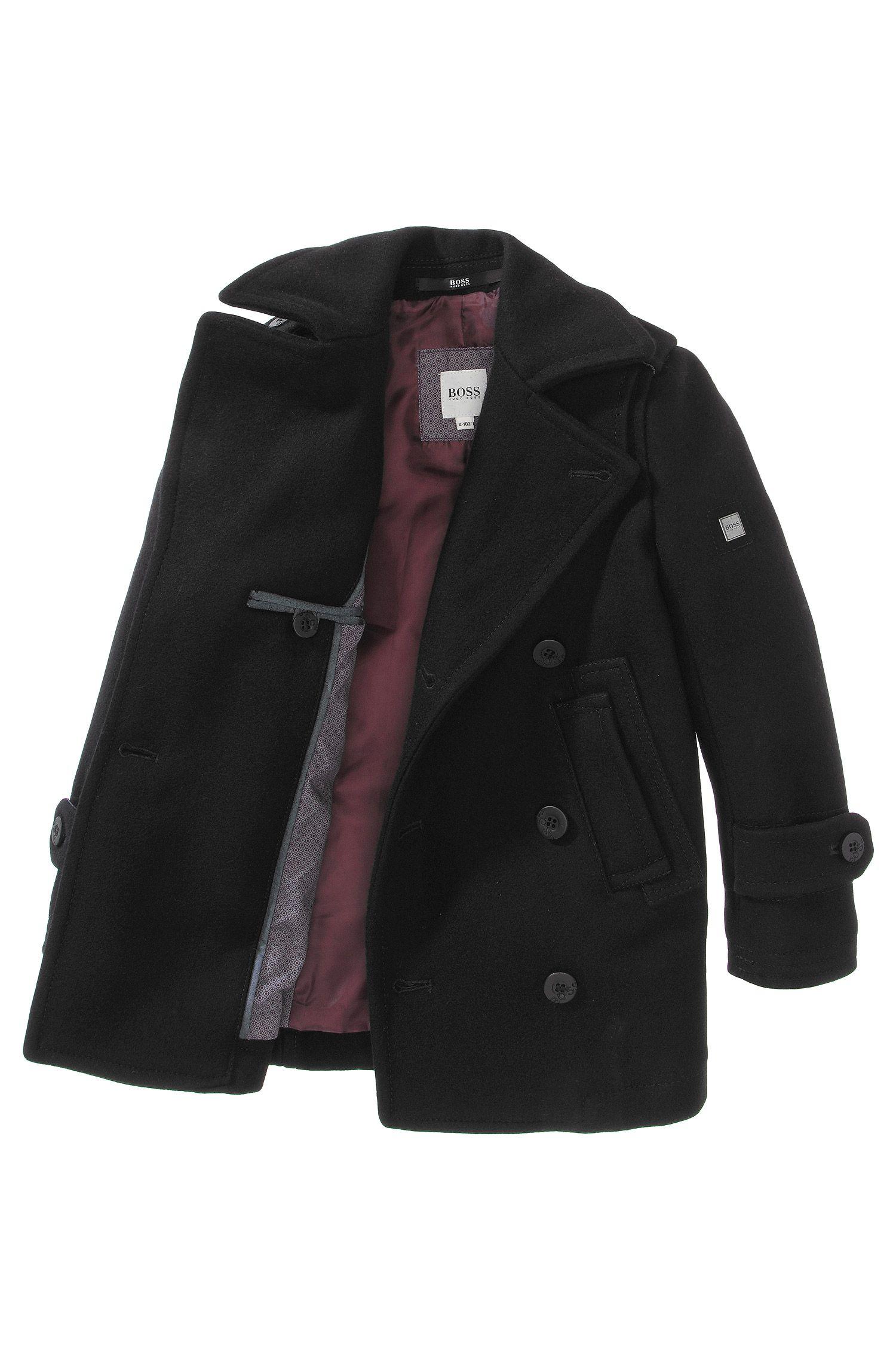 Manteau pour enfant «J26174/09B» en laine mélangée