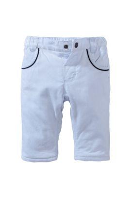 Pantalon en velours côtelé pour enfant «J94075/775» en coton, Bleu vif
