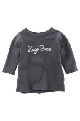 Baby-Pullover ´J95115/775` aus Baumwolle, Schwarz