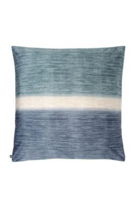 Kopfkissenbezug ´SWELL` aus Baumwollsatin, Blau