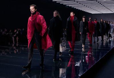 BOSS Fall/Winter Fashion Show runway
