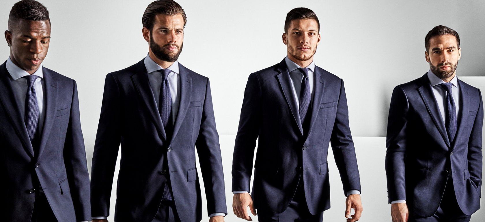 Real Madrid Striped Tie