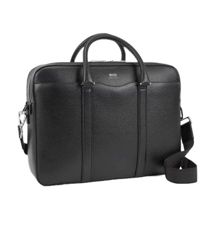 Color : Brown GoaEin Laptop Bags for Men Mens Computer Briefcase Business Briefcase Mens Shoulder Crossbody Cross Section Business Briefcase Business Bag