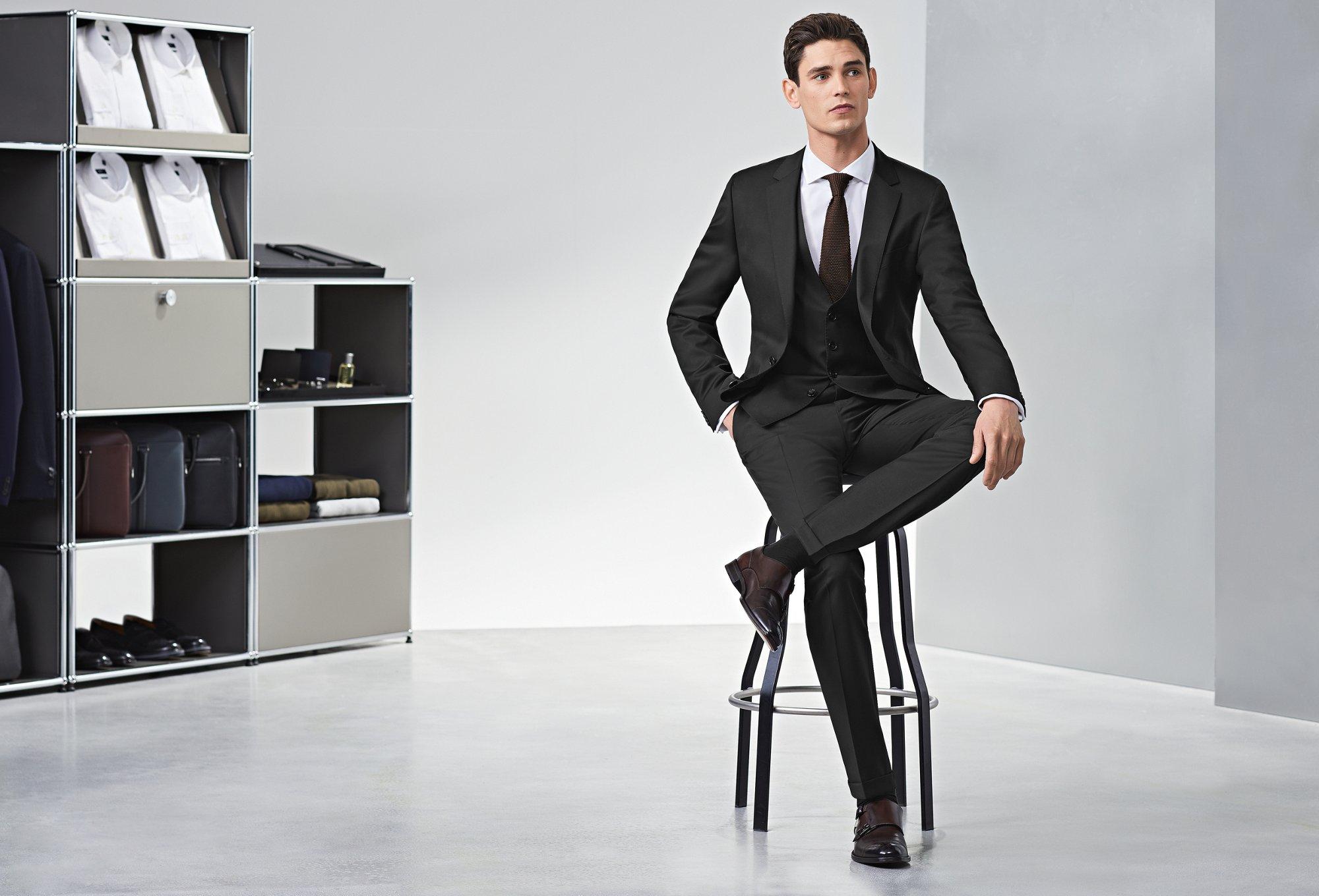 Boss Suits For Men Classic Elegant